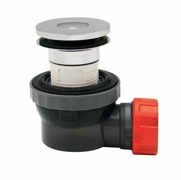"""Macdee Wirquin Nano 6.7 Quick Clac All In One 32mm & 1 1/4"""" Basin Waste & Trap"""